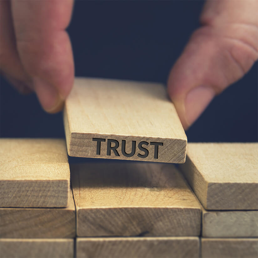 Putting Trust and Security at the Center